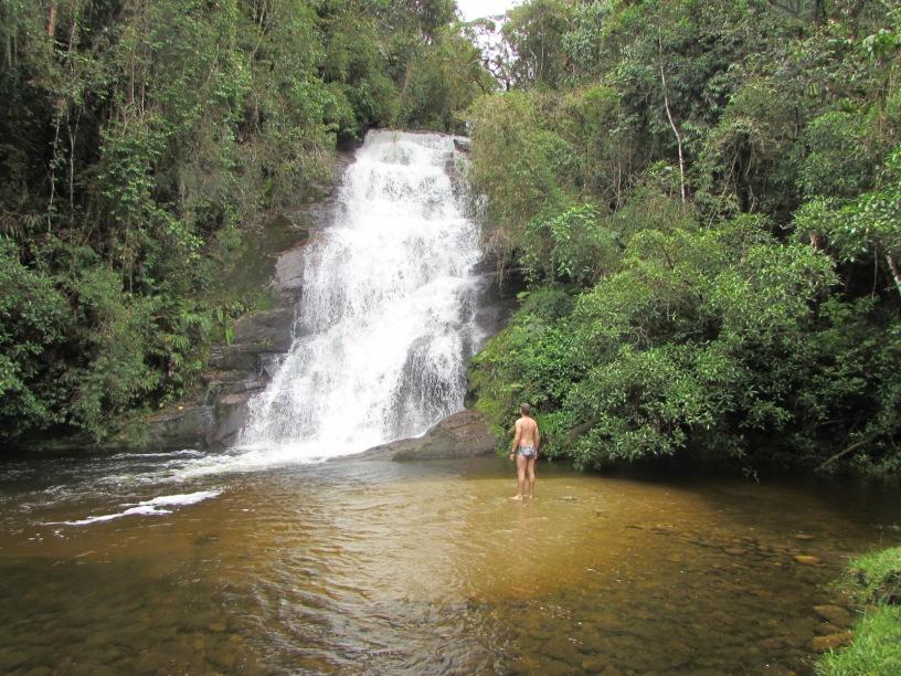 cachoeira estação ecológica de bananal