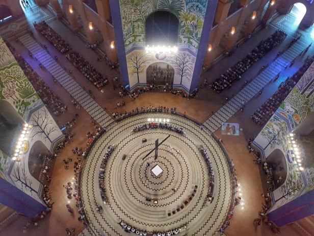 cúpula santuário de aparecida