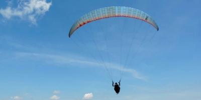 voo livre no pico da cascavel em socorro