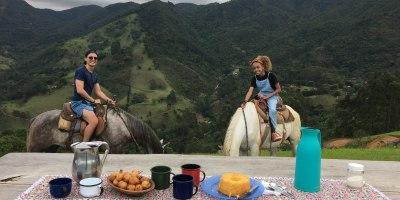 passeio a cavalo em são francisco xavier
